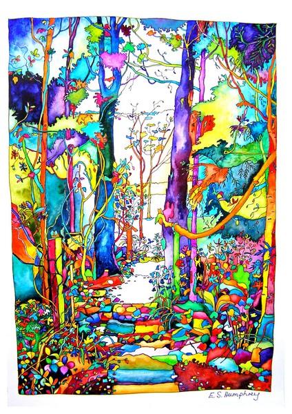 Alison's garden path