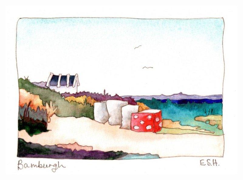 *Bamburgh Beach