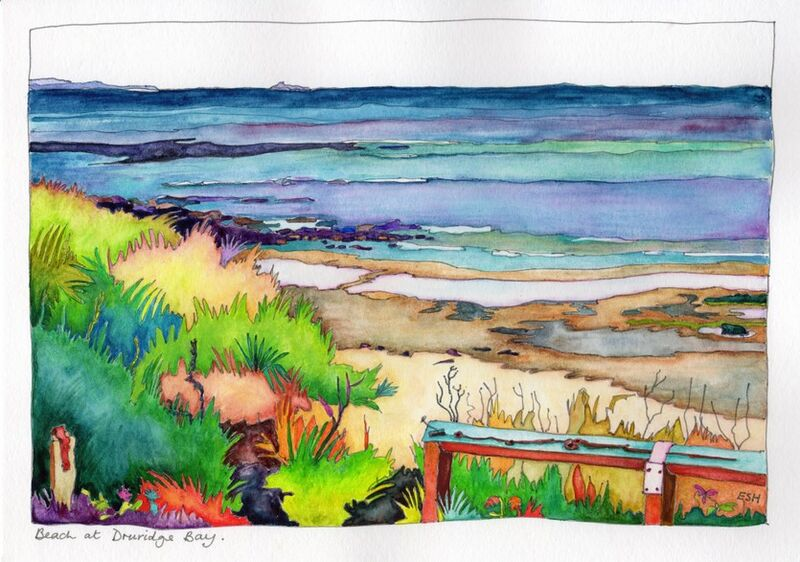 *Beach at Druridge Bay