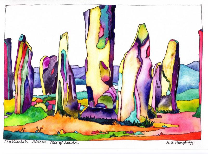 *Callanish Stones Isle of Lewis