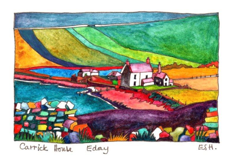 *Carrick House Eday
