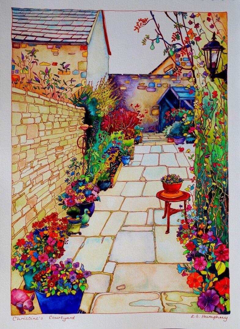Christine's Courtyard