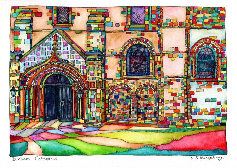 *Durham Cathedral Door