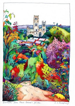 *Durham from Paul's garden