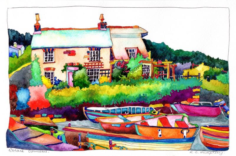 *Golant Harbour Cornwall