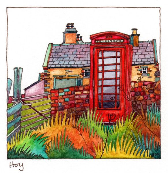 Phonebox on Hoy