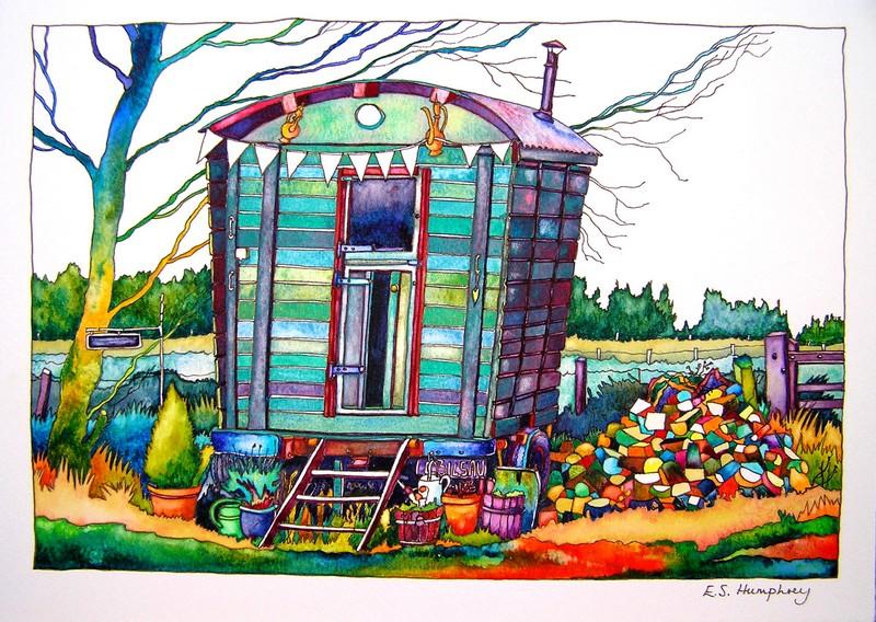 Jane's Shepherd's Hut