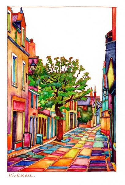 *Kirkwall Street Orkney