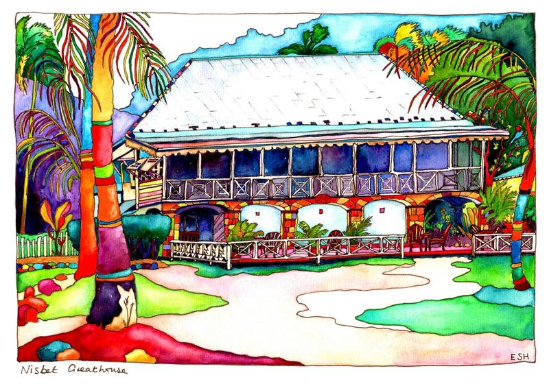 *The Great House Nisbet Nevis