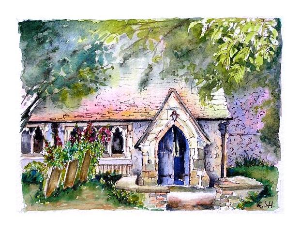 Berwick Church Sussex