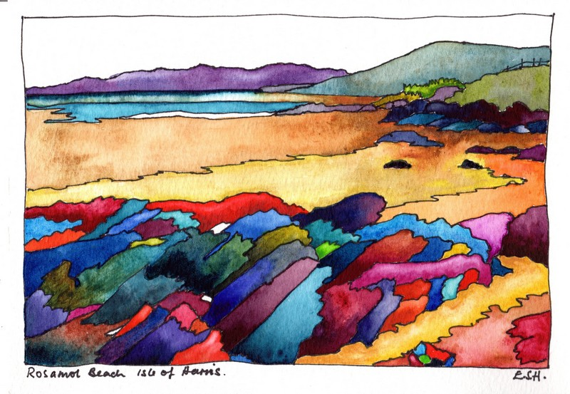 *Rosamol Beach Isle of Harris