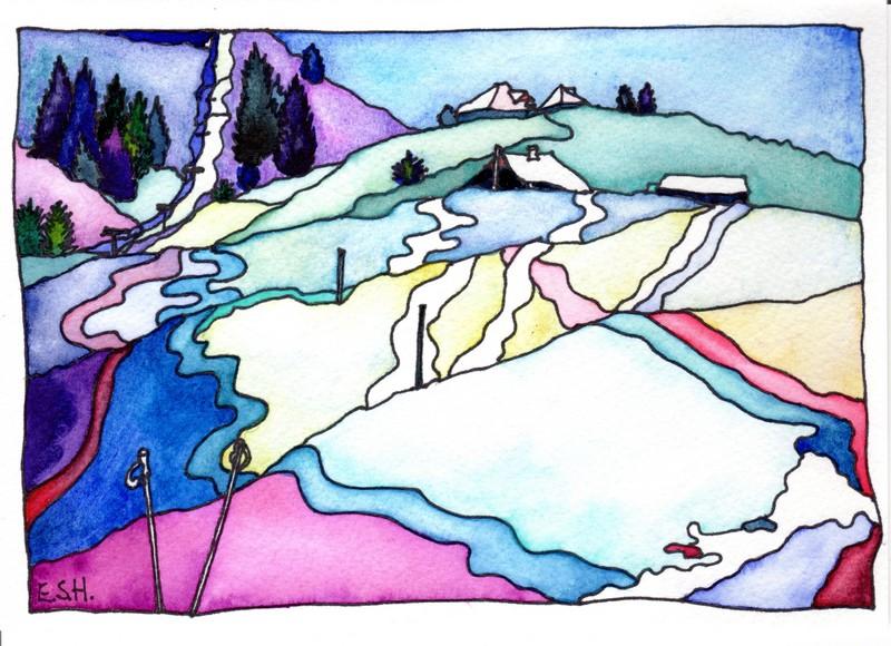 *Rossberg Ski Slope 1