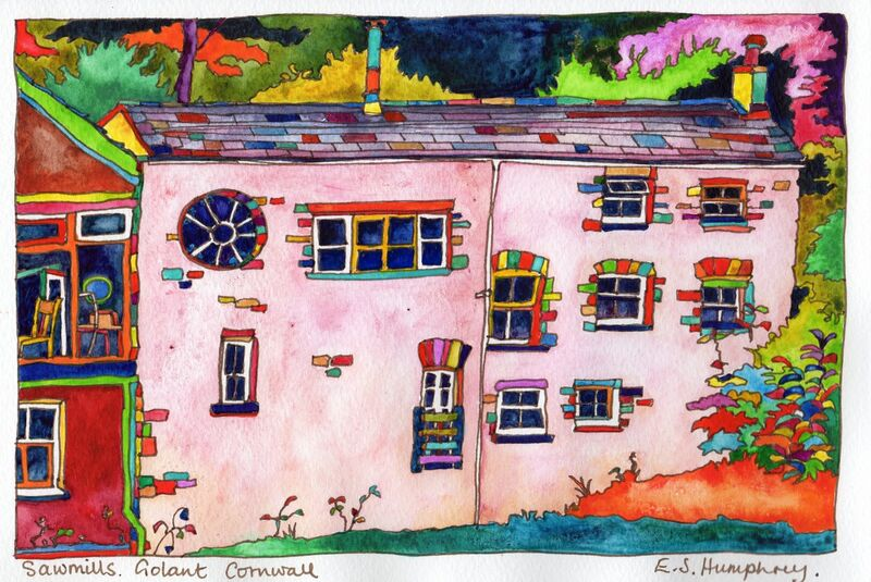 *Sawmill at Golant Cornwall