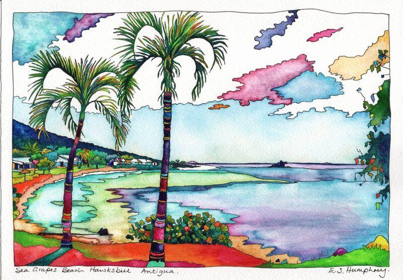 *Palms at Sea Grapes Hawksbill Antigua