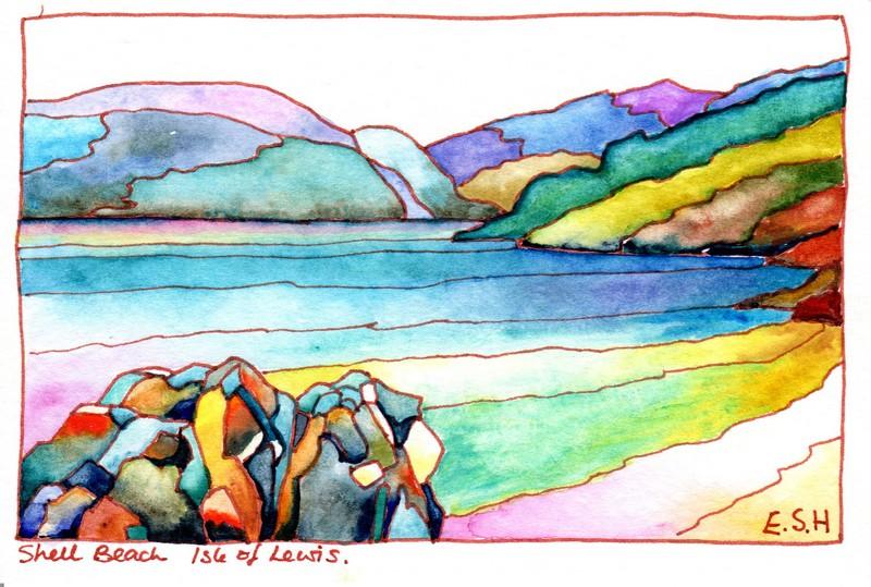 *Shell Beach Isle of Lewis