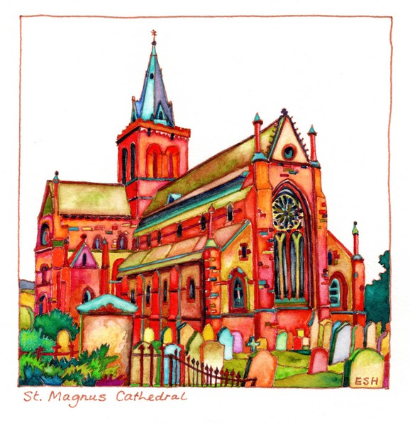 *St Magnus Cathedral Kirkwall Orkney