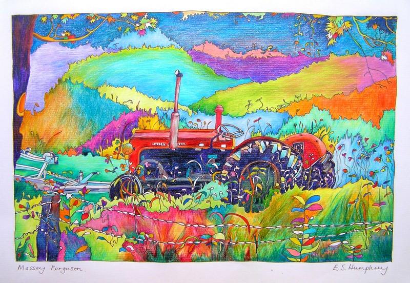 *Tractor in Solva