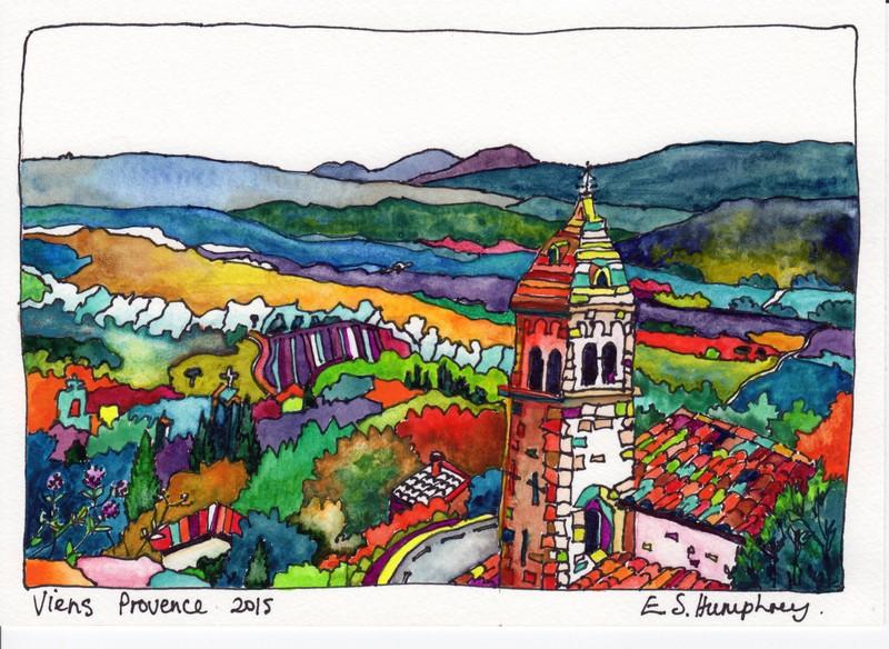 *Viens Church Provence