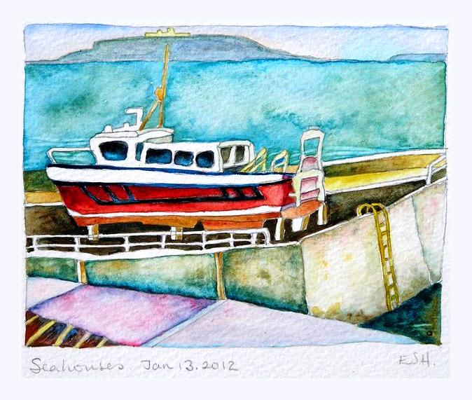 *Winter overhaul at Seahouses