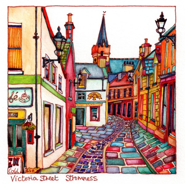 *Victoria Street Stromness Orkney