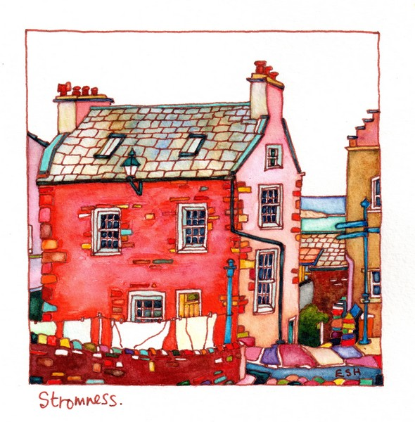 *House on Alfred Street Stromness Orkney