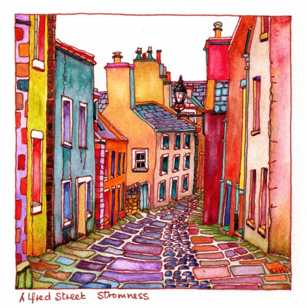 *Alfred Street Stromness Orkney