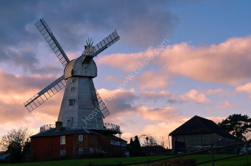 New Mill at Dusk