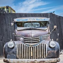 Rusty Chevrolet pick up