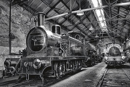 Engine Sheds.