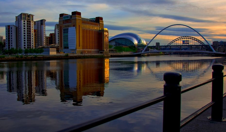 The Quayside Reflections