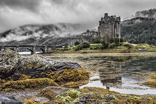 Castle - Low Tide