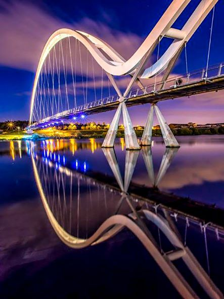 Infinity Bridge -  Stockton.