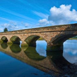 The Duchess Bridge Reflections