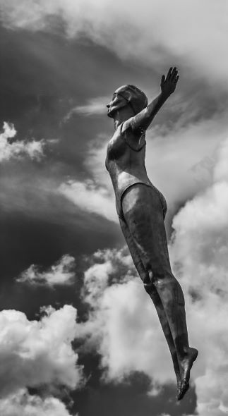 Diving Belle statue, Scarborough