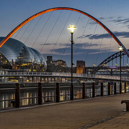 As night falls on the Quayside 1