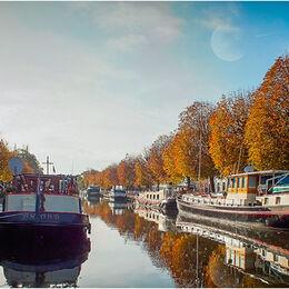 Barges in Bruges