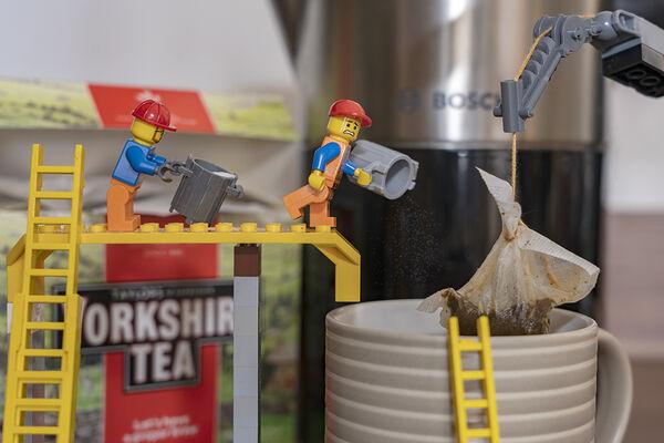 3rd. Builders tea. Gayle Hall. Judge: Sue Merrington