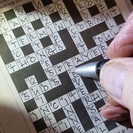1st. Crossword. Twerry Harvey. Judge: Ray Bell.
