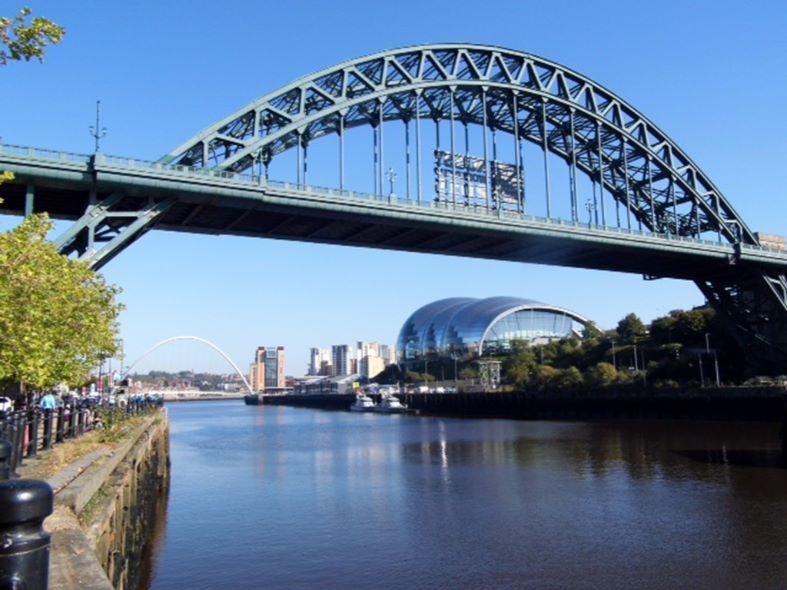 Curves on the Tyne