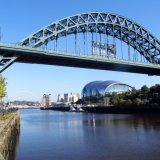 Curves on the Tyne