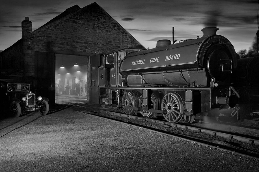 2nd. Engine and Shed. George Richardson. Judge: Steve McLean.