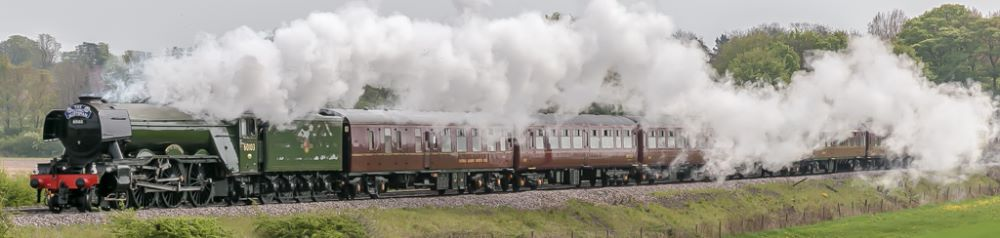 Flying Scotsman steam power