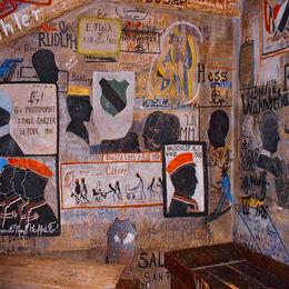 German prison cell