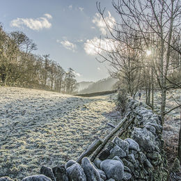 Hard frost in Borrowdale