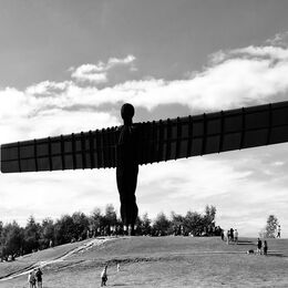 I like the Angel of the North