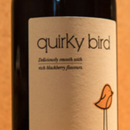 Q is for .... Quirky Bird (red)