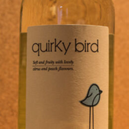 Q is for .... Quirky Bird (white)