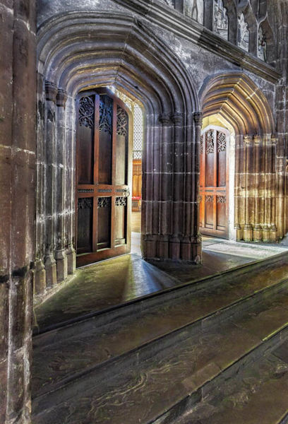 South doors Ripon cathedral