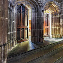 South doors Ripon cathedral