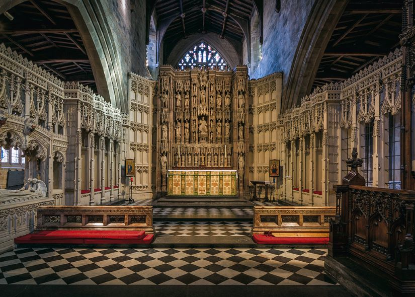 1st. St Nicholas Cathedral. Gayle Hall. Judge: Trevor Roxby